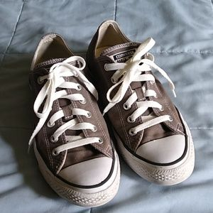 Converse All Star Gray Chuck Taylor M8 Womens 10